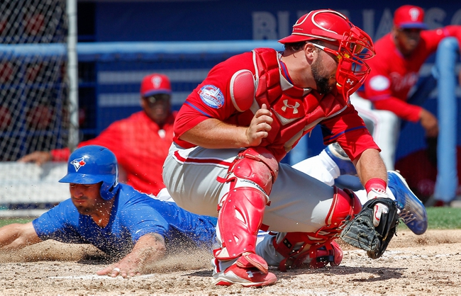 Toronto Blue Jays vs. Philadelphia Phillies - 7/28/15 MLB Pick, Odds, and Prediction