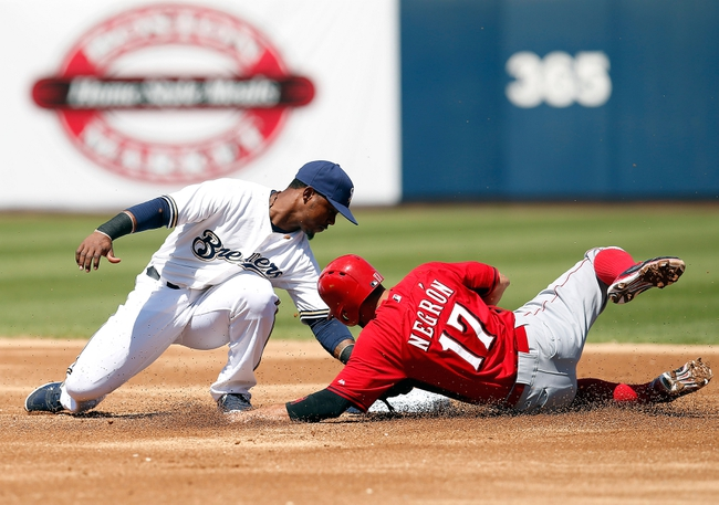 Brewers vs. Reds - 4/20/15 MLB Pick, Odds, and Prediction