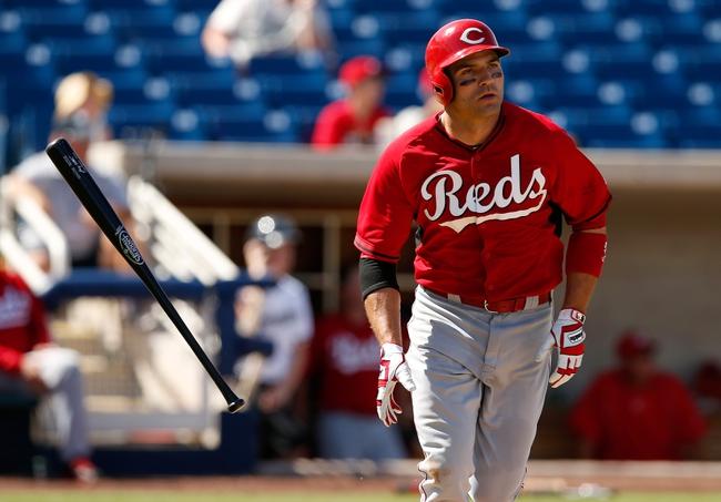 Cincinnati Reds vs. Cleveland Indians - 7/17/15 MLB Pick, Odds, and Prediction