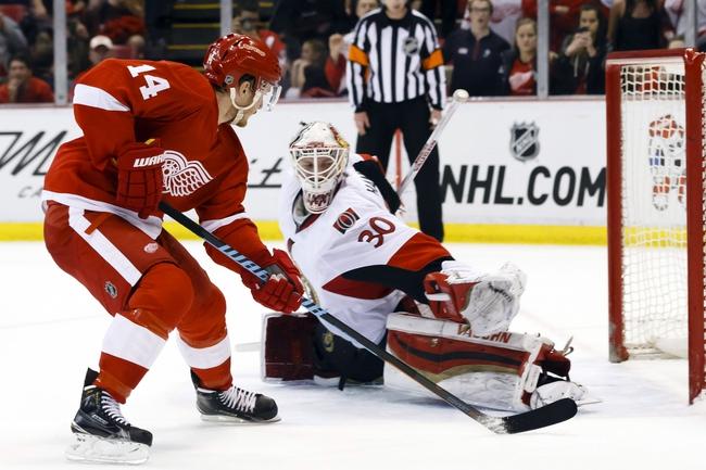 Detroit Red Wings vs. Ottawa Senators - 10/30/15 NHL Pick, Odds, and Prediction