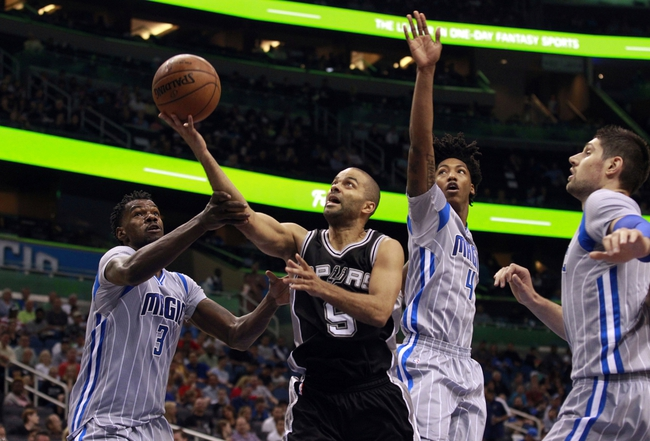 Magic at Spurs - 2/1/16 NBA Pick, Odds, and Prediction