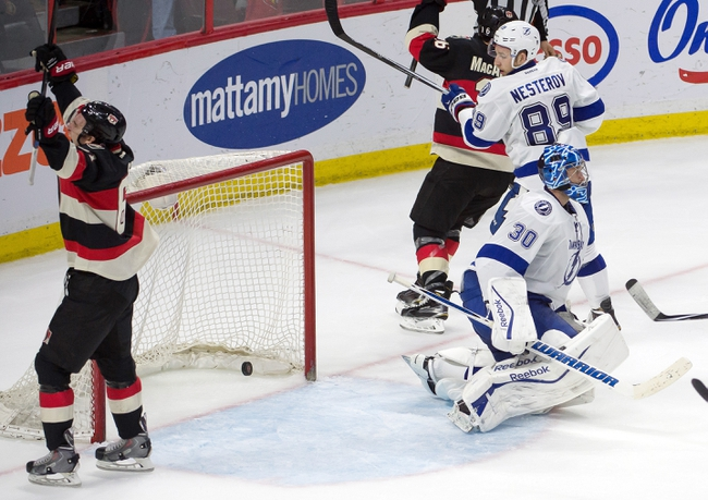 Tampa Bay Lightning vs. Ottawa Senators - 12/10/15 NHL Pick, Odds, and Prediction