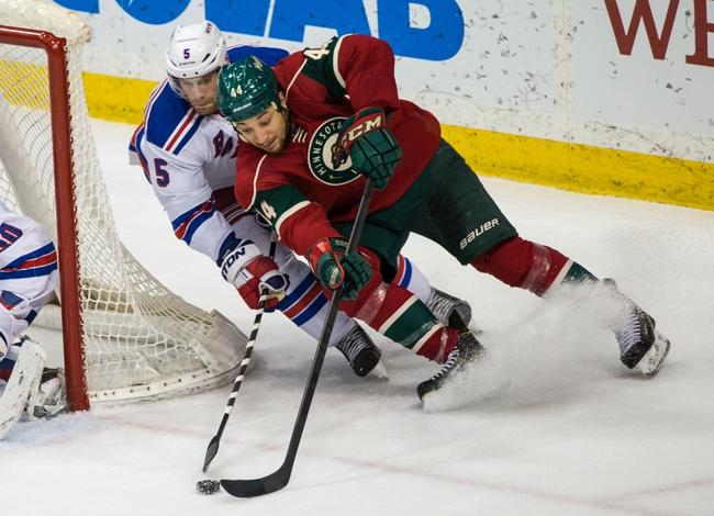 Minnesota Wild vs. New York Rangers - 12/17/15 NHL Pick, Odds, and Prediction
