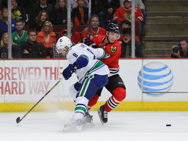 Vancouver Canucks vs. Chicago Blackhawks - 11/21/15 NHL Pick, Odds, and Prediction