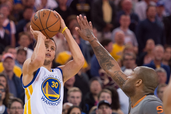 Phoenix Suns vs. Golden State Warriors - 11/27/15 NBA Pick, Odds, and Prediction
