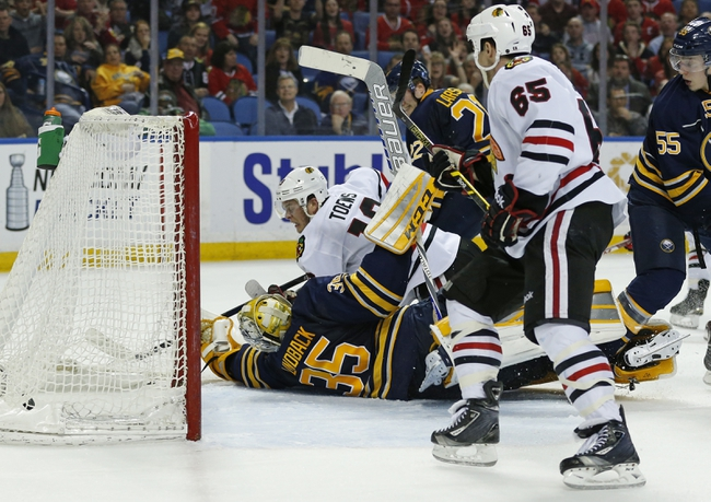 Buffalo Sabres vs. Chicago Blackhawks - 12/19/15 NHL Pick, Odds, and Prediction