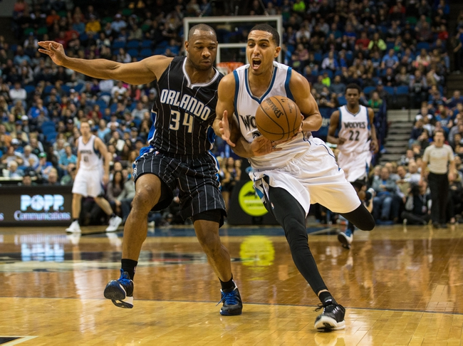 Orlando Magic vs. Minnesota Timberwolves - 11/18/15 NBA Pick, Odds, and Prediction