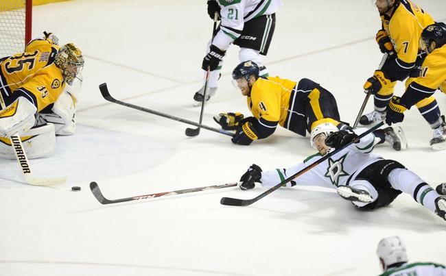 Dallas Stars vs. Nashville Predators - 12/31/15 NHL Pick, Odds, and Prediction