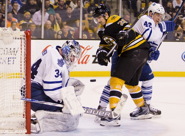 Boston Bruins vs. Toronto Maple Leafs - 11/21/15 NHL Pick, Odds, and Prediction
