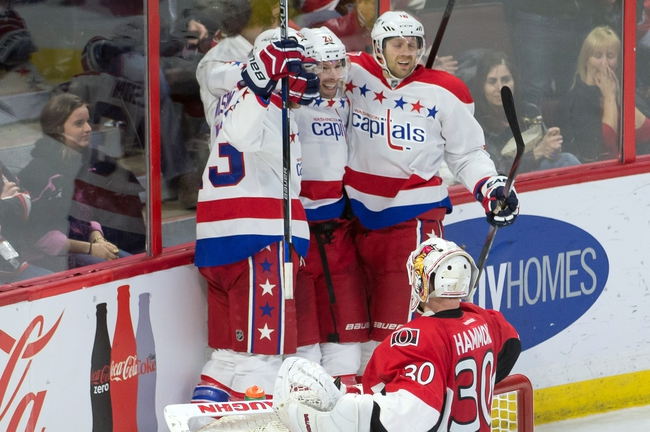 Washington Capitals vs. Ottawa Senators - 12/16/15 NHL Pick, Odds, and Prediction