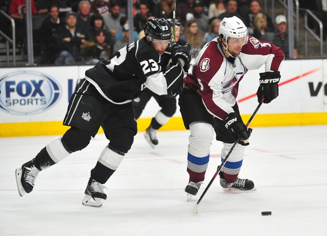 Avalanche at Kings - 10/18/15 NHL Pick, Odds, and Prediction