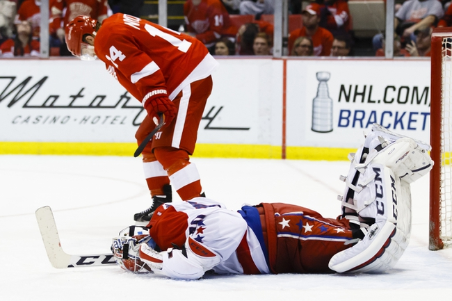 Detroit Red Wings vs. Washington Capitals - 11/10/15 NHL Pick, Odds, and Prediction