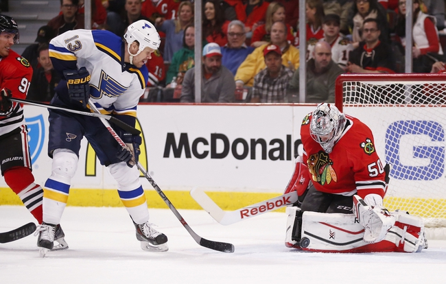 St. Louis Blues vs. Chicago Blackhawks - 4/9/15 NHL Pick, Odds, and Prediction