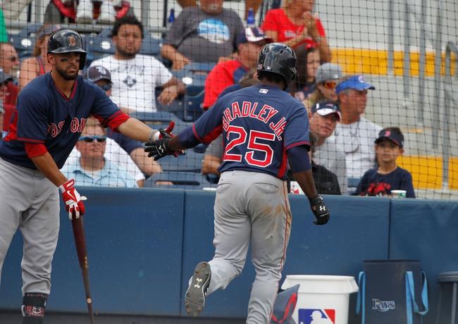 Tampa Bay Rays vs. Boston Red Sox - 4/21/15 MLB Pick, Odds, and Prediction