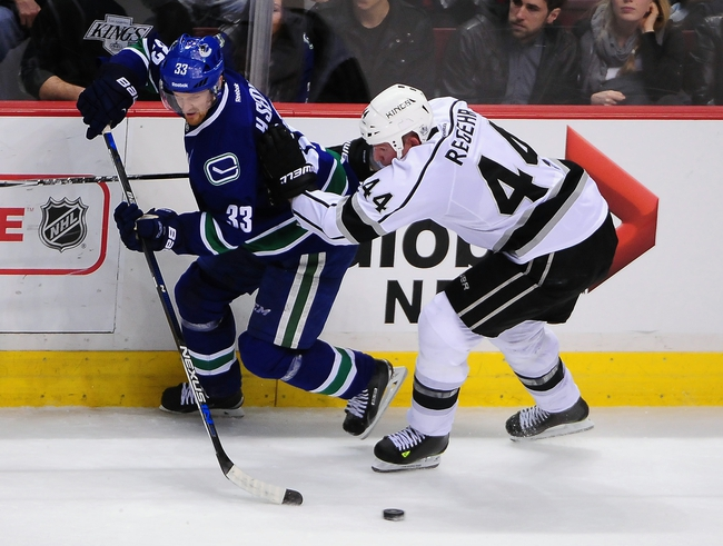 Los Angeles Kings vs. Vancouver Canucks - 10/13/15 NHL Pick, Odds, and Prediction