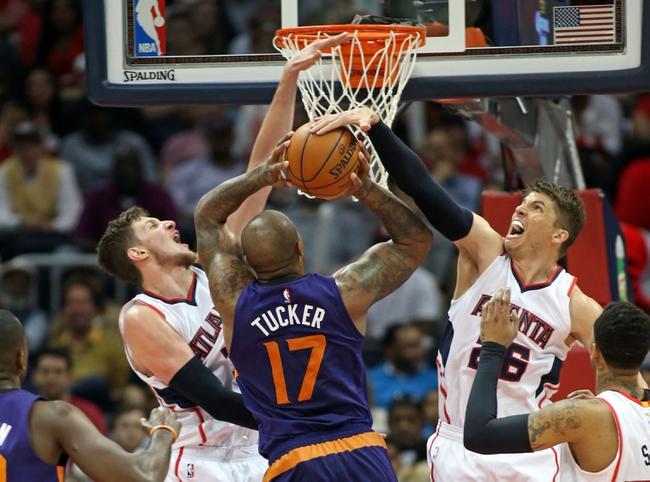 Hawks at Suns - 1/23/16 NBA Pick, Odds, and Prediction