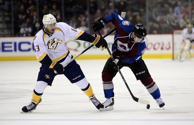 Avalanche vs. Predators - 3/5/16 NHL Pick, Odds, and Prediction