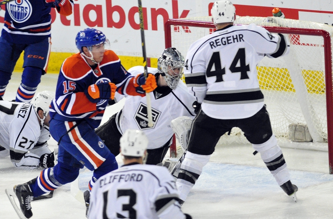 Edmonton Oilers vs. Los Angeles Kings - 10/25/15 NHL Pick, Odds, and Prediction