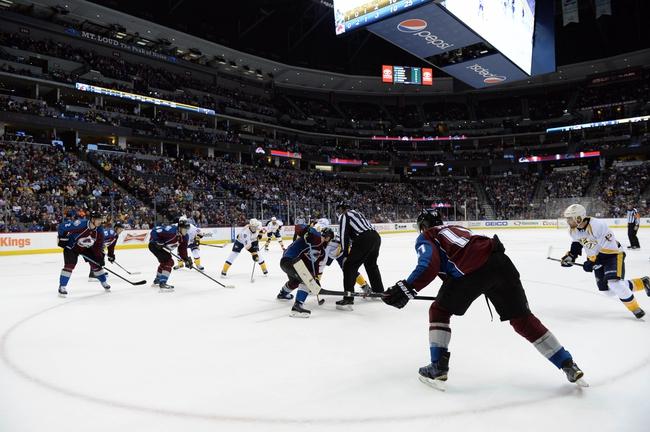 Avalanche vs. Predators - 1/8/16 NHL Pick, Odds, and Prediction
