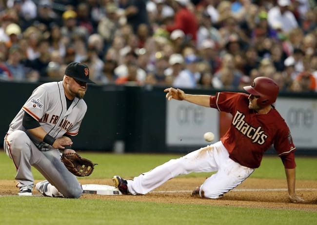 Giants vs. Diamondbacks - 4/16/15 MLB Pick, Odds, and Prediction