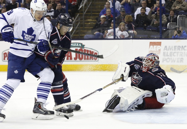 Columbus Blue Jackets vs. Toronto Maple Leafs - 10/16/15 NHL Pick, Odds, and Prediction