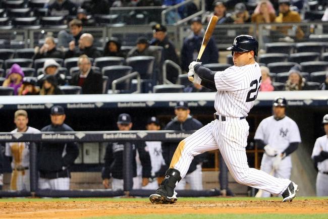 New York Yankees vs. Toronto Blue Jays - 4/9/15 MLB Pick, Odds, and Prediction