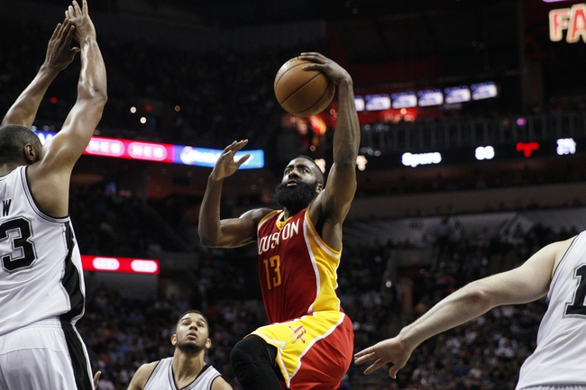 Rockets vs. Spurs - 4/10/15 NBA Pick, Odds, and Prediction