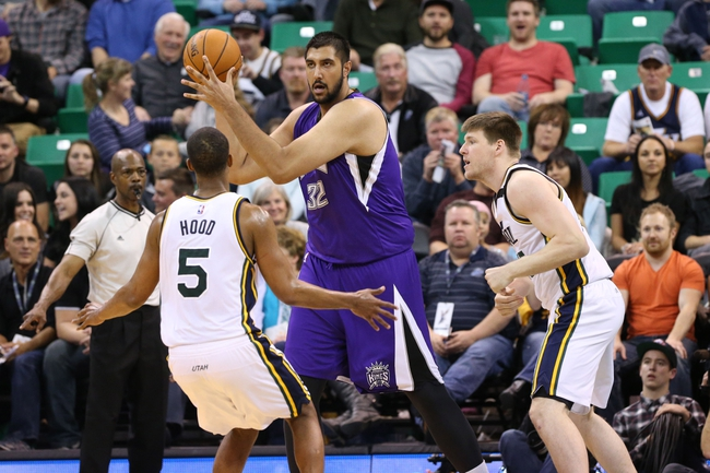 Kings vs. Jazz - 12/8/15 NBA Pick, Odds, and Prediction