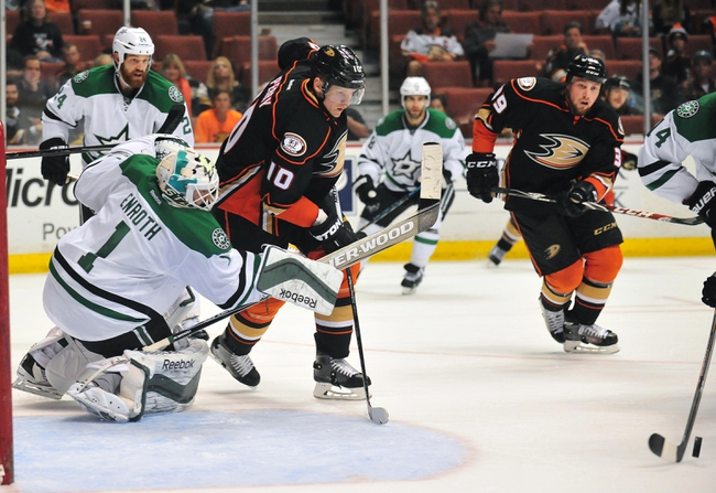 Dallas Stars vs. Anaheim Ducks - 10/27/15 NHL Pick, Odds, and Prediction