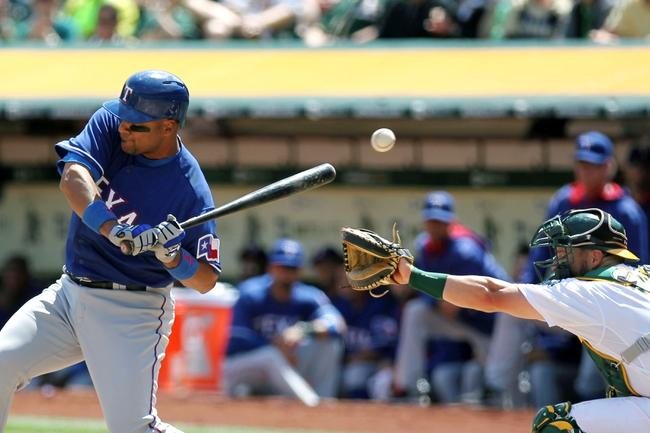Athletics at Rangers - 5/1/15 MLB Pick, Odds, and Prediction