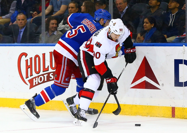 Ottawa Senators vs. New York Rangers - 11/14/15 NHL Pick, Odds, and Prediction