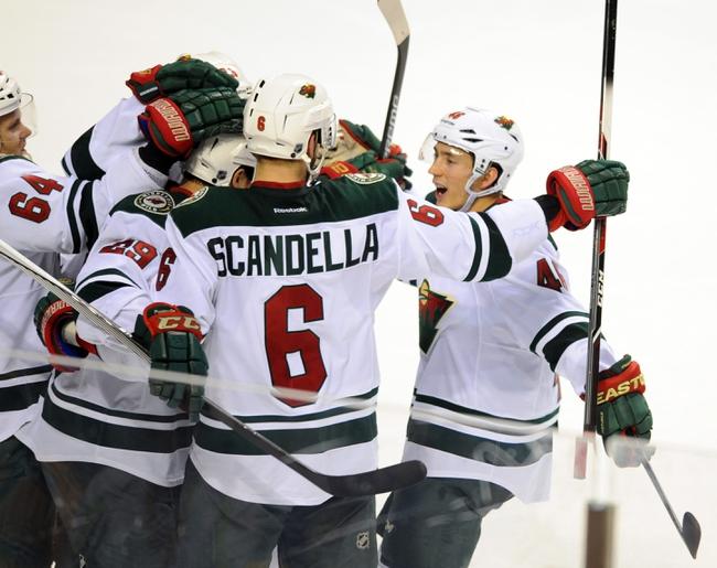 Minnesota Wild vs. Nashville Predators - 11/5/15 NHL Pick, Odds, and Prediction