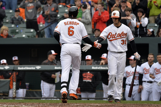 Baltimore Orioles vs. Toronto Blue Jays - 4/11/15 MLB Pick, Odds, and Prediction