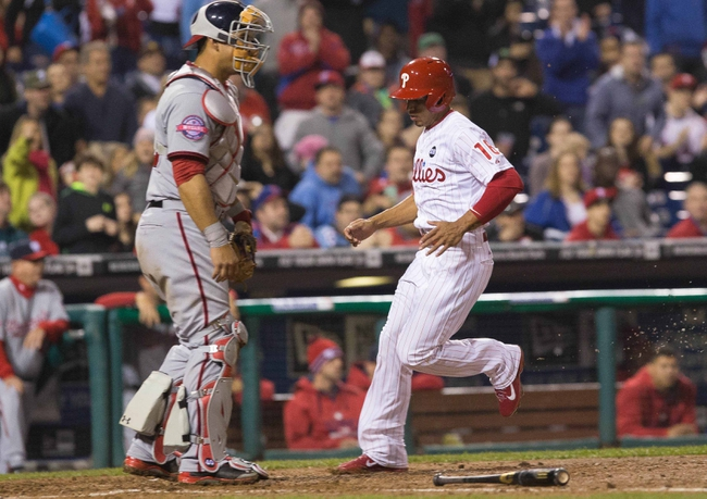 Phillies vs. Nationals - 4/11/15 MLB Pick, Odds, and Prediction