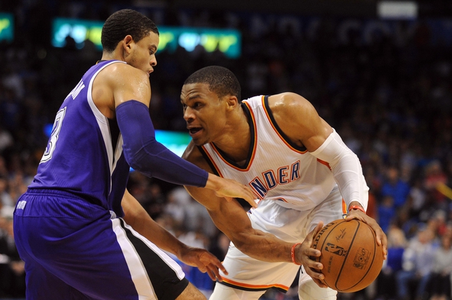 Oklahoma City Thunder vs. Sacramento Kings - 12/6/15 NBA Pick, Odds, and Prediction