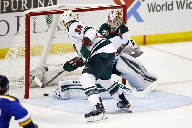 Wild at Blues - 4/16/15 NHL Pick, Odds, and Prediction