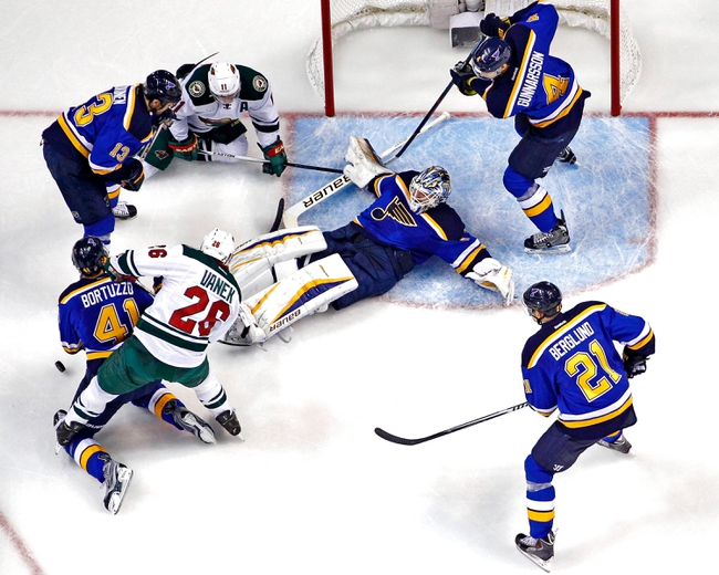 St. Louis Blues vs. Minnesota Wild - 4/16/15 NHL Pick, Odds, and Prediction