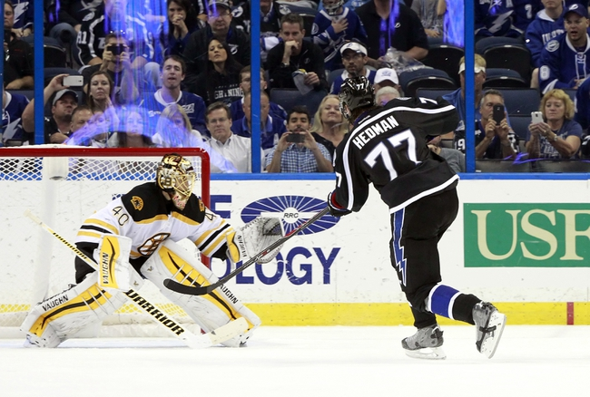 Bruins vs. Lightning - 10/12/15 NHL Pick, Odds, and Prediction