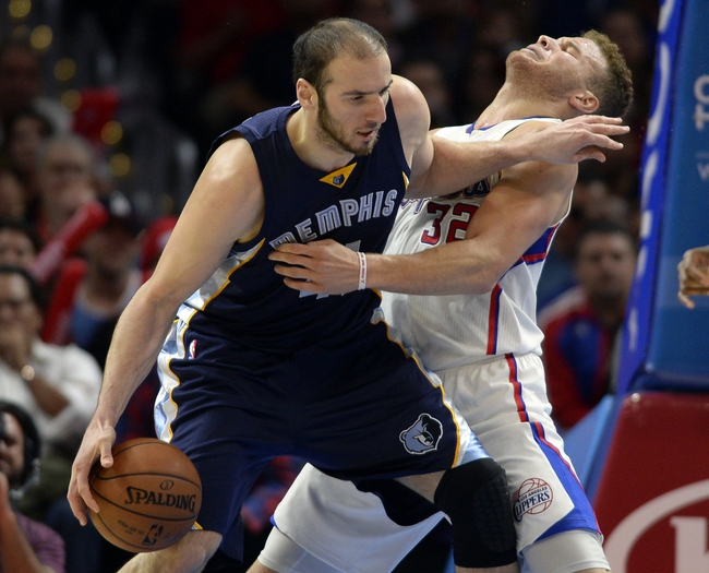 Los Angeles Clippers vs. Memphis Grizzlies - 11/9/15 NBA Pick, Odds, and Prediction