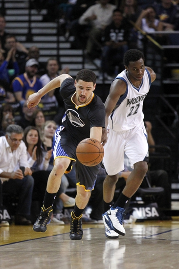 Minnesota Timberwolves vs. Golden State Warriors - 11/12/15 NBA Pick, Odds, and Prediction