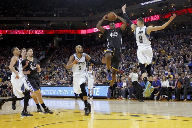 Warriors at Timberwolves - 11/12/15 NBA Pick, Odds, and Prediction