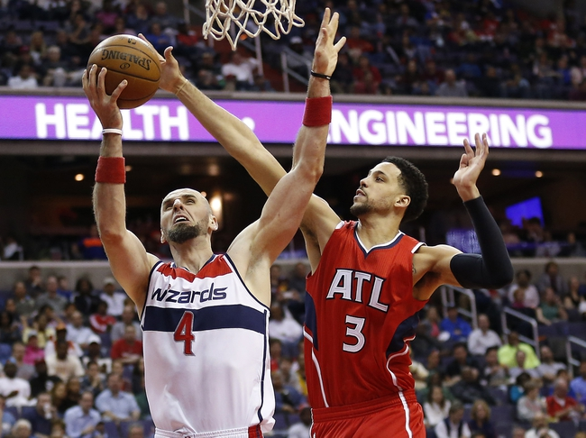 Wizards at Hawks - 5/3/15 NBA Pick, Odds, and Prediction