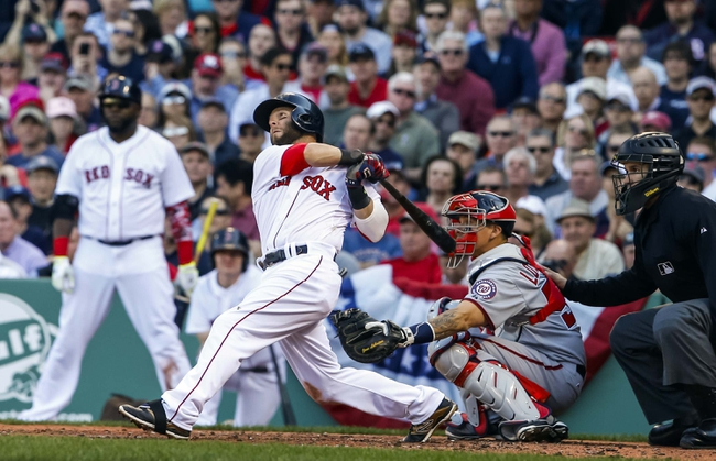 Red Sox vs. Nationals - 4/14/15 MLB Pick, Odds, and Prediction