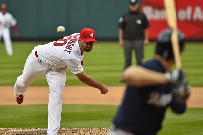 Brewers at Cardinals - 4/15/15 MLB Pick, Odds, and Prediction