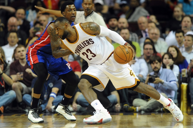 Detroit Pistons vs. Cleveland Cavaliers - 11/17/15 NBA Pick, Odds, and Prediction