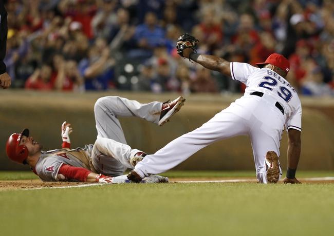 Rangers vs. Angels - 4/14/15 MLB Pick, Odds, and Prediction