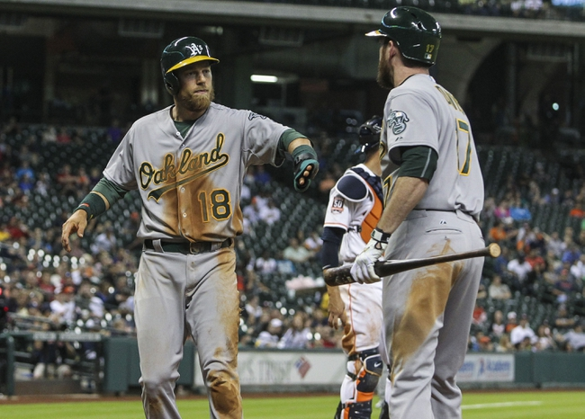 Astros vs. Athletics - 4/15/15 MLB Pick, Odds, and Prediction