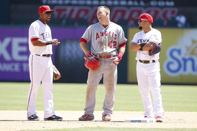 Angels vs. Rangers - 4/24/15 MLB Pick, Odds, and Prediction