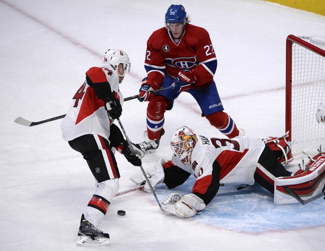 Montreal Canadiens vs. Ottawa Senators - 4/17/15 NHL Pick, Odds, and Prediction