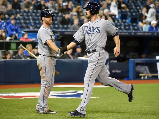 Rays at Blue Jays - 4/16/15 MLB Pick, Odds, and Prediction